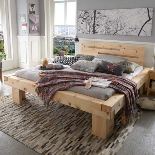 balkenbett monte. Black Bedroom Furniture Sets. Home Design Ideas